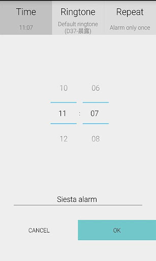 Wake-up alarm
