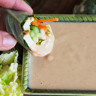 Peanut Dipping Sauce With Spring Rolls Recipes
