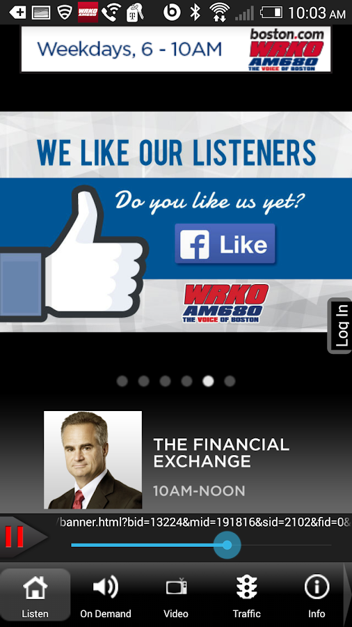 WRKO - The Voice of Boston- screenshot