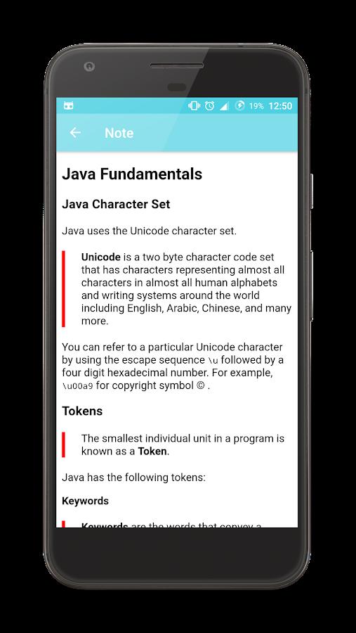 Java Programming App