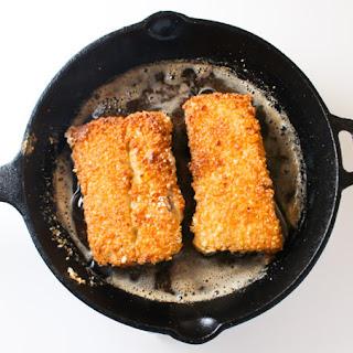 Macadamia Crusted Mahi Mahi.