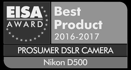 Nikon D500 award