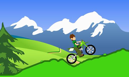 Ben Motorbike iron Hill Climb