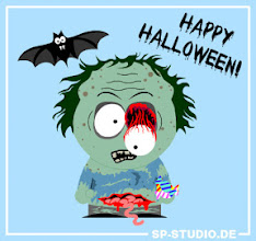 Photo: HAPPY HALLOWEEN! This creepy www.sp-studio.de update comes with 7 new items:  - A bat - Intestines - Zombie mouth with rotten teeth - Ripped out eye - Messy short hair - Tattered shirt - ...aaand candy!