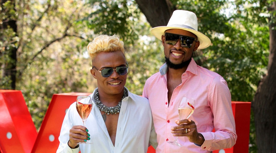 Red-bottom shoes & extravagant outfits: #Somhale's white wedding's gonna be a jump! - TimesLIVE