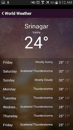 玩免費天氣APP|下載World Weather app不用錢|硬是要APP