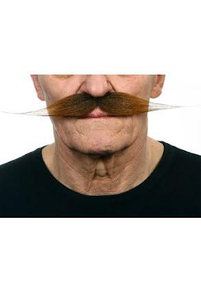 Mustasch Vaxad, brun