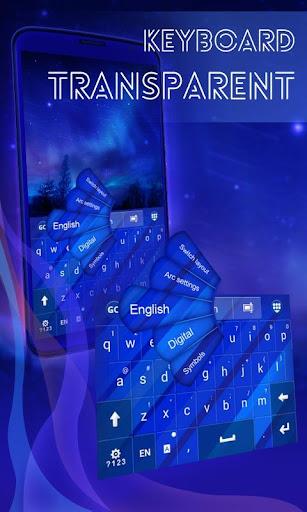 透明なキーボード