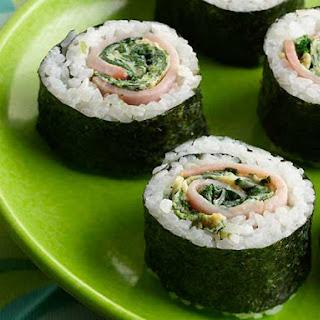 Green Eggs & Ham Sushi.