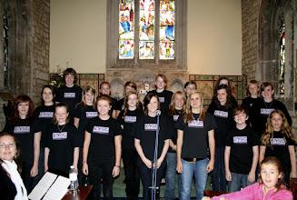 Photo: Bath Youth Gospel Choir © The Priston Festival 2009, photo: Richard Bottle