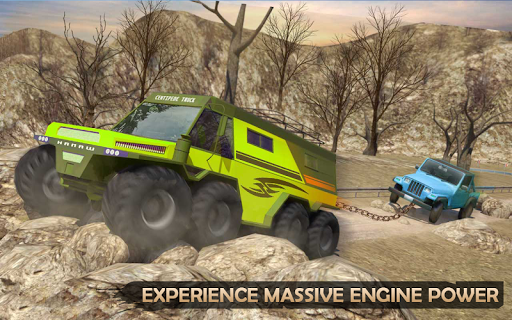 Extreme Offroad Mud Truck Simulator 6x6 Spin Tires 2.4 screenshots 7