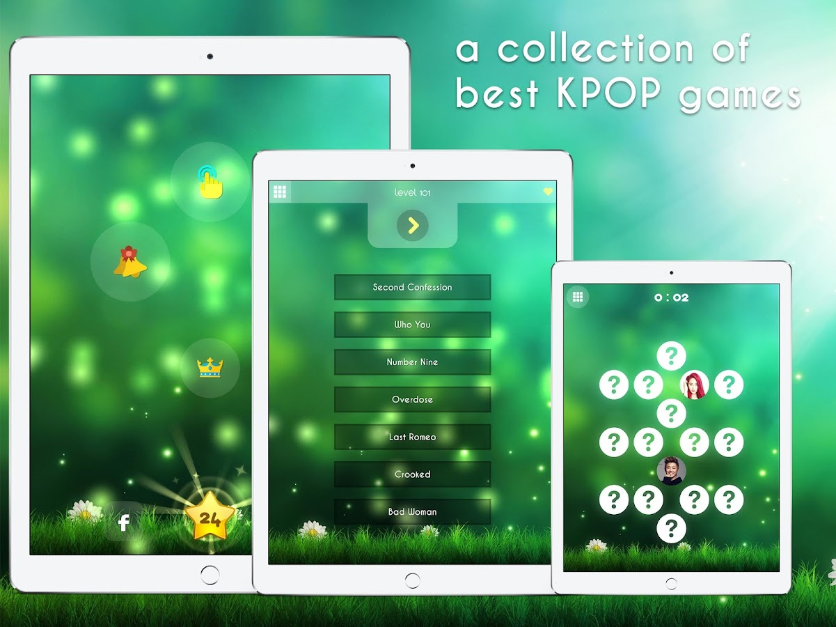 Kpop music game- screenshot
