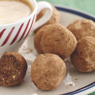 Peanut Chocolate Crunch Balls.