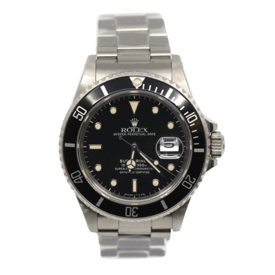 Photo of a Rolex Submariner Ref. 168000