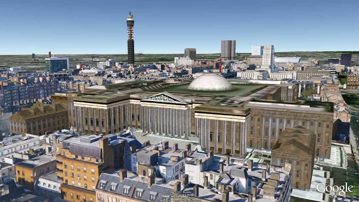 Fairytale marriage google earth and london in 3d
