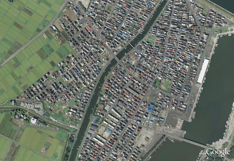 Yuriage in Natori (antes del tsunami de Japón)