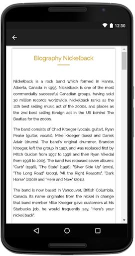 Download Nickelback Songs Lyrics Google Play softwares