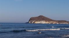 Playa de Genoveses en el Parque Natural de Cabo de Gata-Níjar.