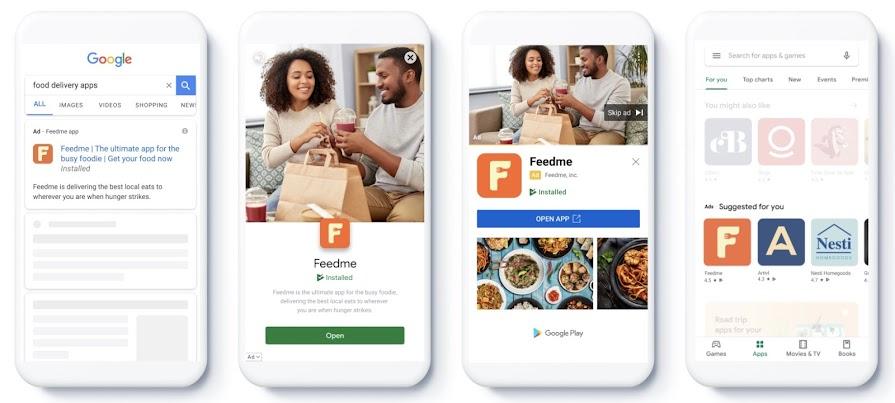 גוגל אדס קמפיין ריטרגטינג לאפליקציות App Engagement
