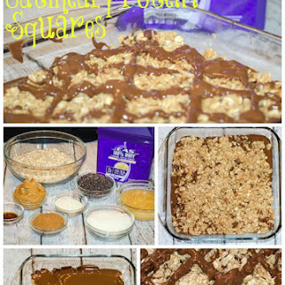 Oatmeal Protein Squares