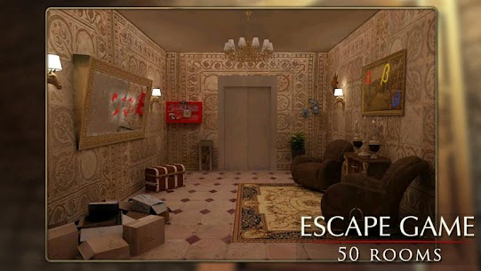 Escape Game: 50 rooms 1 Mod Apk (Unlimited Hints) 5