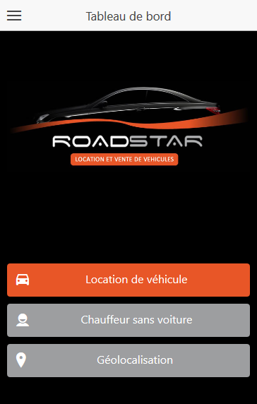 Roadstar Location de voiture- screenshot