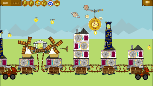 Steampunk Idle Spinner: cogwheels and machines 1.8.4 screenshots 2