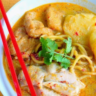 Curry Chicken Noodle.