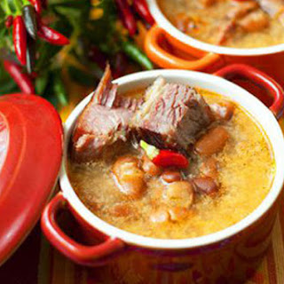 Potato Soup With Spareribs And Beans