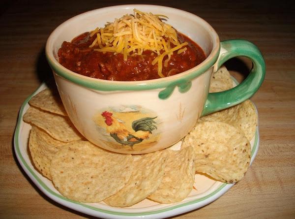 Domestic Goddess Chili Recipe