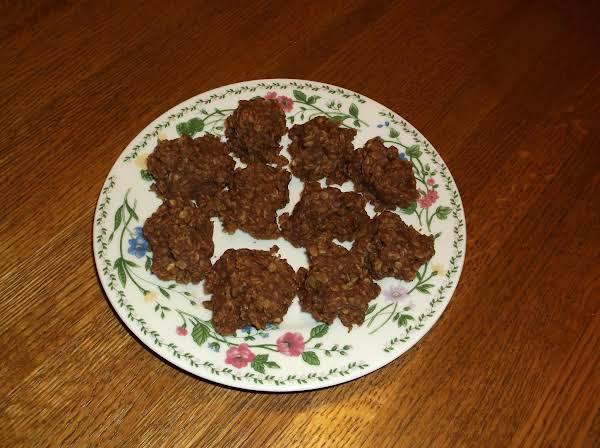 Chocolate No-bake Cookies Recipe