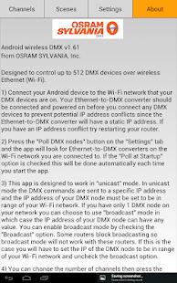 OSRAM DMX Wi-Fi Controller- screenshot thumbnail