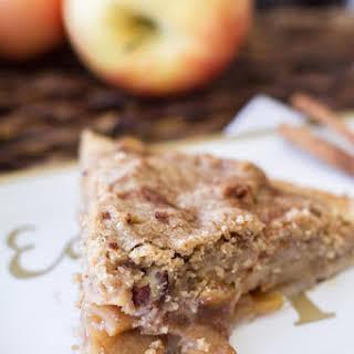 Rustic Dutch Apple Pie.
