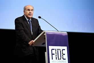 Photo: Foto: Lizette Kabré.  Mr Vassilios Skouris, President of the Court of Justice of the European Union