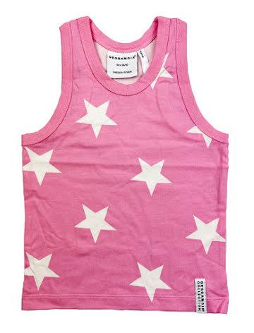 Geggamoja Tank Top Pink Star