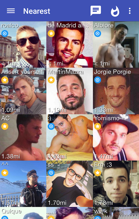 Screenshots of Wapo: Gay Dating for iPhone