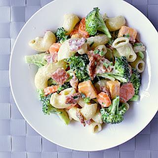 The Ultimate Bacon Ranch Pasta Salad Recipe
