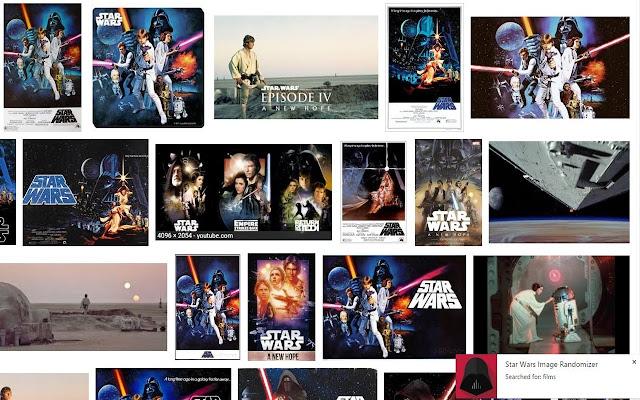 Star Wars Image Randomizer