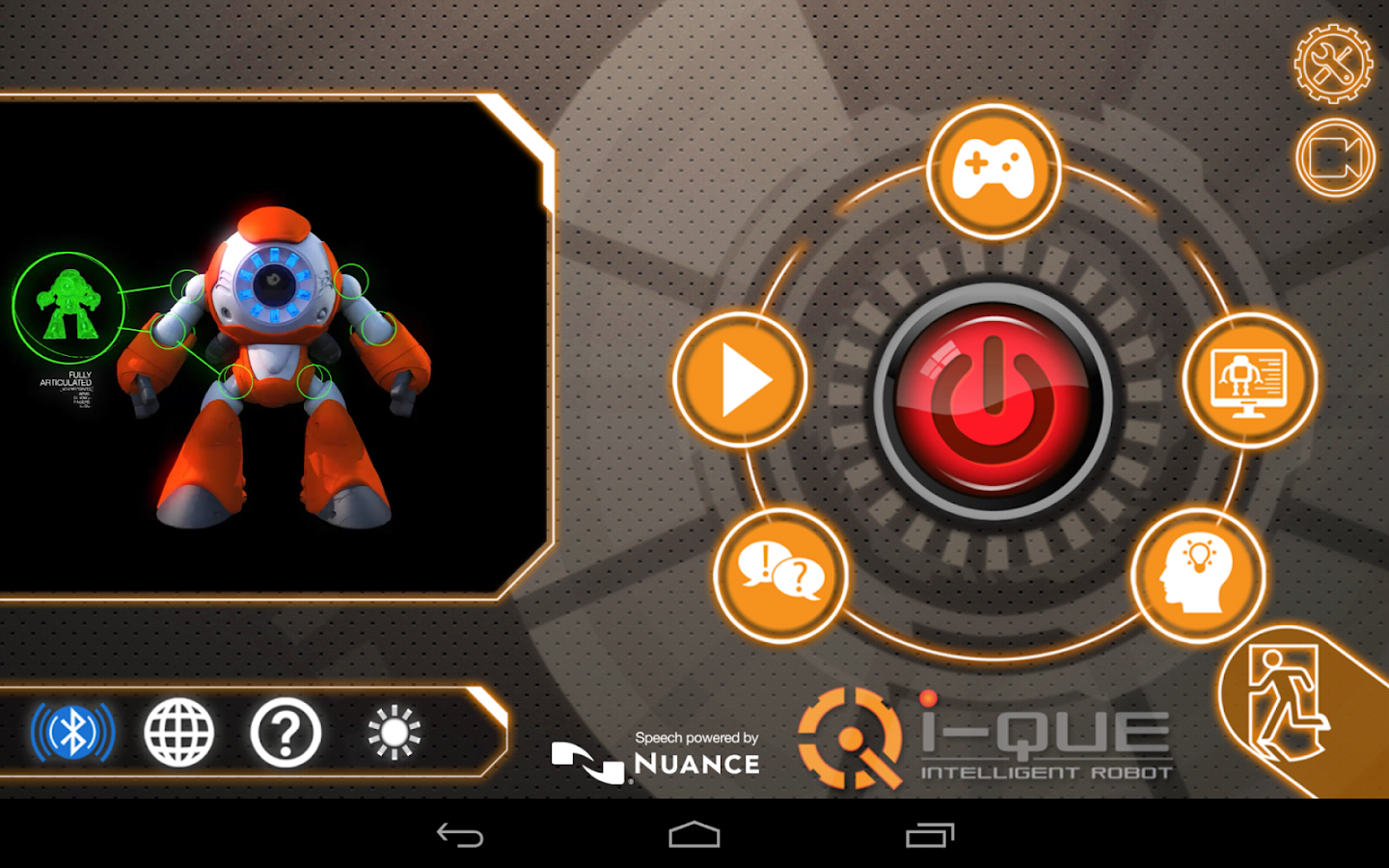 i-Que Robot App (Deutsche)- screenshot