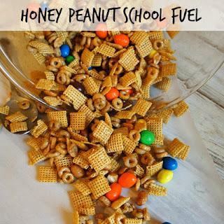 Honey Peanut School Fuel Chex Mix