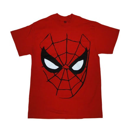 T-Shirt - Spiderman - Mask