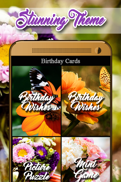 Happy Birthday Greetings Android By Amity Apps