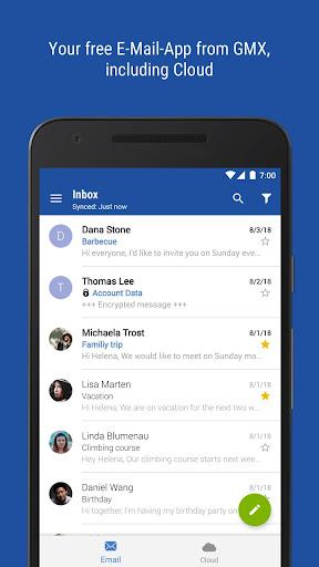GMX - Mail & Cloud 6.15.2 screenshots 1