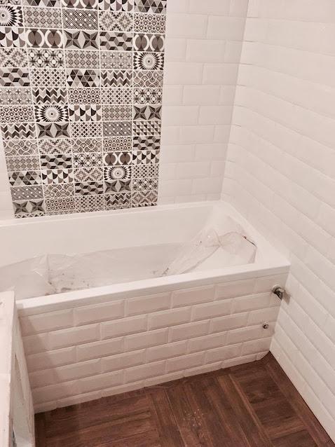 Metro csempe fürdőszoba
