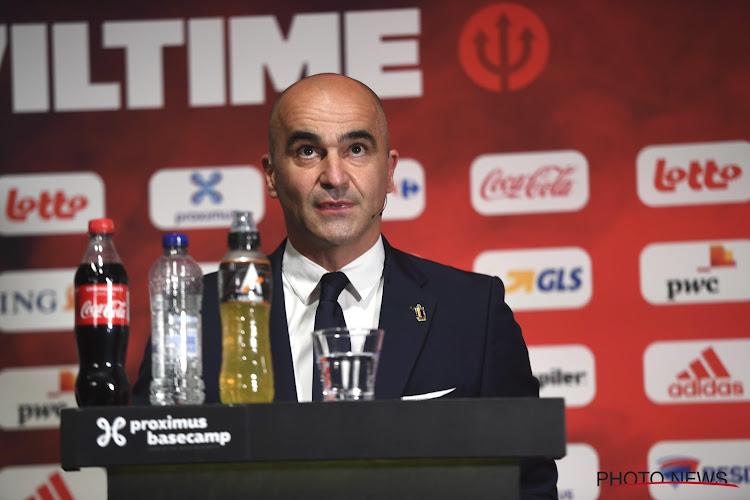 """Bondscoach Martinez licht zijn keuzes toe: """"Chadli kan een grote rol voor ons spelen op het EK"""""""
