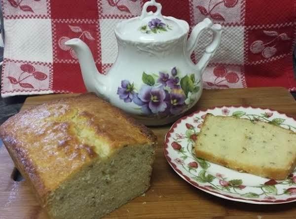 Lavender Buttermilk Pound Cake Recipe
