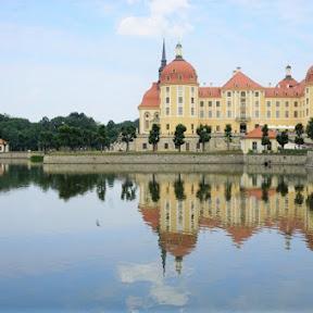 【世界のお城】水に浮かぶモーリッツブルク城へ、ドイツ・ドレスデンからSLの旅