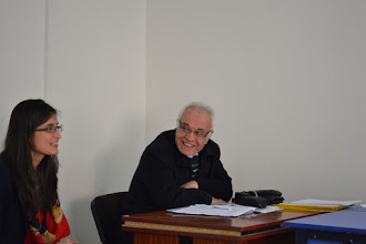 Photo: On the left: Devrim Cagro and İbrahim Halil Taş