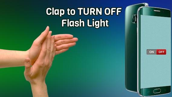 Flashlight on Clap screenshot 02
