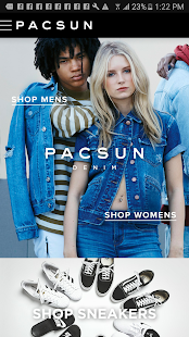 PacSun- screenshot thumbnail